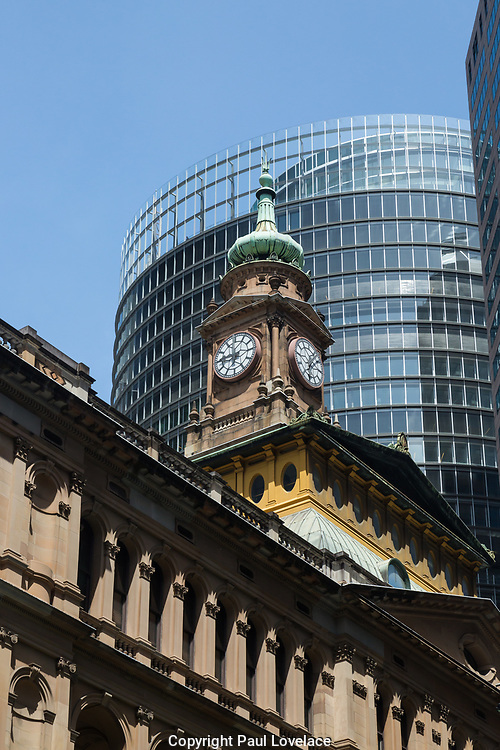 Open Sydney presented by Sydney Living Museuems. This event every year allows Sydneysiders to visit 40 of the city's most significant buildings and spaces across the CBD. Department of Lands Building, Sydney.