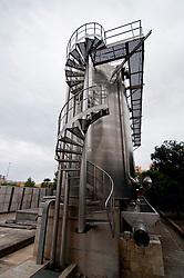 Galatina - Cantine Aperte 2010 - Azienda Agricola Valle dell'Asso - Silos utilizzati per la conservazione del vino.
