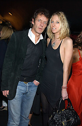 The HON.SOPHIA HESKETH and ROBIE UNIACKE at a party to celebrate the first issue of British Harper's Bazaar held at Cirque, 10-14 Cranbourne Street, London WC2 on 16th February 2006.<br /><br />NON EXCLUSIVE - WORLD RIGHTS