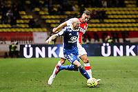 Christophe JALLET / Yannick FERREIRA CARRASCO - 01.02.2015 - Monaco / Lyon - 23eme journee de Ligue 1 -<br />Photo : Eric Gaillard / Icon Sport