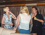 **EXCLUSIVE**.Kirsten Dunst partying with her girlfriends at a Private Yacht Party.St. Barth, Caribbean.Wednesday, December 29, 2004.Photo By Celebrityvibe.com/Photovibe.com, New York, USA, Phone 212 410 5354, email:sales@celebrityvibe.com...