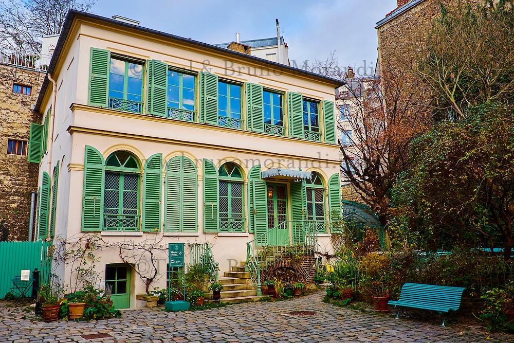 France, Paris, Musée de la Vie Romantique dans le 9e arrondissement, quartier de la Nouvelle-Athenes // France, Paris, Vie Romantique museum in Nouvelle-Athenes quarter