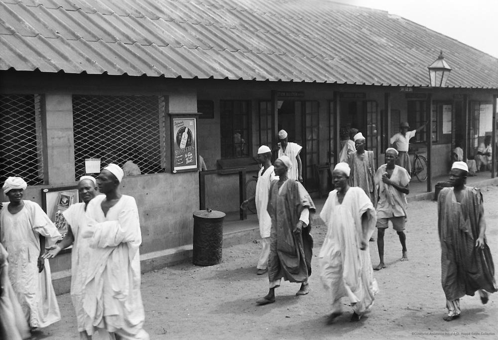 Railway Station, Lagos, Nigeria, Africa, 1937