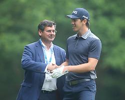 May 25, 2018 - Surrey, United Kingdom - Scott Fernandez (ESP).during The BMW PGA Championship Round 2 at Wentworth Club Virgnia Water, Surrey, United Kingdom on 25 May 2018  (Credit Image: © Kieran Galvin/NurPhoto via ZUMA Press)