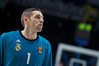 Real MadridFabien Causeur during Turkish Airlines Euroleague match between Real Madrid and Baskonia Vitoria at Wizink Center in Madrid, Spain. January 17, 2018. (ALTERPHOTOS/Borja B.Hojas)