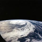 Hurricane 'Florence' taken from Space Shuttle Atlantis from 165n. miles above earth. NASA