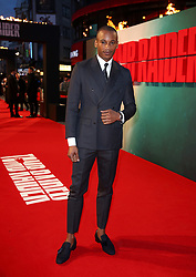 Eric Underwood attending the Tomb Raider European Premiere held at Vue West End in Leicester Square, London.