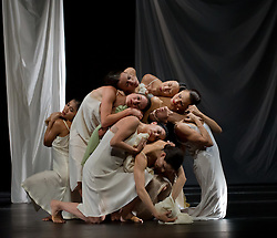 """© Copyright licensed to London News Pictures. 26/10/2010. """"Iphigenie auf Tauris"""", Tanztheater Wuppertal Pina Bausch, Sadler's Wells. A rare performance of Gluck's masterpiece."""
