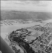Y-620608B-05 University of Portland. Siltronic. St. Johns. June 8, 1962