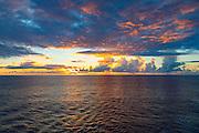 Sunset, Paul Gauguin, Tahiti, French Polynesia