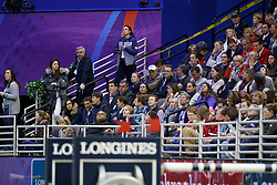 Philippaerts Nicola, Ludo, Veronique, BEL<br /> Round 2<br /> Longines FEI World Cup Jumping, Omaha 2017 <br /> © Hippo Foto - Dirk Caremans<br /> 01/04/2017