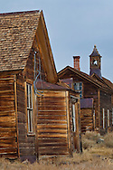 Wooden houses, Bodie State Historic Park,  Mono County, California