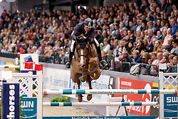 Van Heel Arne, NED, Quincy 126<br /> Championship of Neumünster - Prize of Paul Schockemöhle Stud<br /> FEI World Cup Neumünster - VR Classics 2017<br /> © Hippo Foto - Stefan Lafrentz