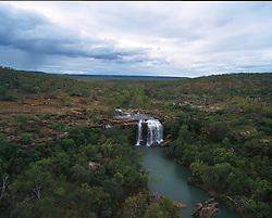 Little Mertens Falls in the Kimberley wet season.