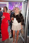 JULIA BRANJSTRUP; CAROLINE FLEMING;, Gabrielle's Gala 2013 in aid of  Gabrielle's Angels Foundation UK , Battersea Power station. London. 2 May 2013.