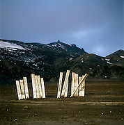 Ruins at an abandoned whaling station, Whaler's Bay, Deception Island, South Shetland Islands, Antarctica