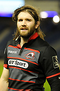 Ben Toolis after the Guinness Pro 14 2017_18 match between Edinburgh Rugby and Glasgow Warriors at Murrayfield, Edinburgh, Scotland on 23 December 2017. Photo by Kevin Murray.