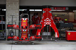 October 18, 2018 - Austin, United States - Scuderia Ferrari SF71H, front wings and body parts during the 2018 Formula One World Championship, United States of America Grand Prix from october 18 to 21 in Austin, Texas, USA -  /   Motorsports: FIA Formula One World Championship; 2018; Grand Prix; United States, FORMULA 1 PIRELLI 2018 UNITED S GRAND PRIX , Circuit of The Americas  (Credit Image: © Hoch Zwei via ZUMA Wire)