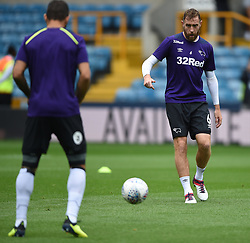 Derby County's Richard Keogh during the warm up