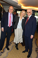 Left to right, MICHAEL HOWARD MP, SANDRA HOWARD and  SIR PETER O'SULLEVAN at The Sir Peter O'Sullevan Charitable Trust Lunch at The Savoy, London on 23rd November 2005.<br /><br />NON EXCLUSIVE - WORLD RIGHTS
