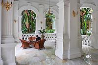 Singapour, Colonial District, hotel Raffles // Singapore, Colonial District, Raffles hotel