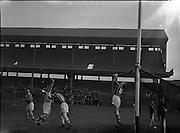 Fitzgibbon Cup Hurling Final, .UCD v UCC at Croke Park,.29.11.1959, 11.29.1959, 29th November 1959, Mountpleasant Avenu, Square, Phoenix Park Cottage May 1987