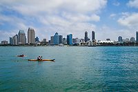 Kayaking on San Diego Bay