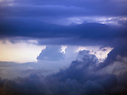 Onset of monsoon clouds in Cochin, Kerala, India