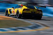 March 16-18, 2017: Mobil 1 12 Hours of Sebring. 4 Corvette Racing, Corvette C7.R, Oliver Gavin, Tommy Milner, Marcel Fassler
