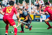 ALKMAAR -  Jeroen Hertzberger (Ned)   . hockey oefenwedstrijd mannen. Nederland-Spanje (2-0) , Rabo Super Serie.  COPYRIGHT  KOEN SUYK