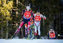 Julian Eberhard (AUT) during Men 12,5 km Pursuit at day 3 of IBU Biathlon World Cup 2015/16 Pokljuka, on December 19, 2015 in Rudno polje, Pokljuka, Slovenia. Photo by Vid Ponikvar / Sportida