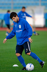 Bojan Jokic of Slovenian National football team at practice a day before the last 2010 FIFA Qualifications match between San Marino and Slovenia, on October 13, 2009, in Olimpico Stadium, Serravalle, San Marino.  (Photo by Vid Ponikvar / Sportida)