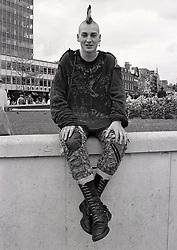 Punk, Nottingham UK 1986