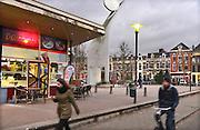 Nederland, Nijmegen, 30-11-2016Overlast Joris Ivensplein van automobilisten die tippelaars oppikken. foto van plein .Foto: Flip Franssen