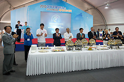 Welcoming Dinner. Korea Match Cup 2010. World Match Racing Tour. Gyeonggi, Korea. 9th June 2010. Photo: Ian Roman/Subzero Images.
