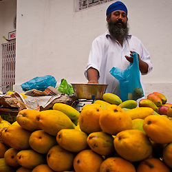 Great mangos sold in the streets of Amritsar