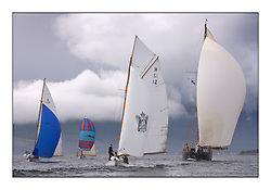 Close finish with Ierne, Mikado , the Truant, Mariette...Sunday race from Largs to Rhu started damp but briefly lifted for a downwind race to the upper Clyde...* The Fife Yachts are one of the world's most prestigious group of Classic .yachts and this will be the third private regatta following the success of the 98, .and 03 events.  .A pilgrimage to their birthplace of these historic yachts, the 'Stradivarius' of .sail, from Scotland's pre-eminent yacht designer and builder, William Fife III, .on the Clyde 20th -27th June.   . ..More information is available on the website: www.fiferegatta.com . .Press office contact: 01475 689100         Lynda Melvin or Paul Jeffes
