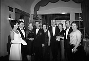 Rose of Tralee Ball at the Gresham Hotel. (l-r) Doreen Kinny, Director of the Festival Dance Committee; Arthur J. O'Leary, Director of Entertainment; M. Dwyer, Director of the Festival Club; Ted Keane, President of the Festival of Kerry; Nanie Laide, Director of Accommodation; Dermot Kenny of the Folk Section; Maud Hennebury, Executive Member; Florence O'Connor, Festival Director; and Sheila Horan, Transport Director..26.04.1967