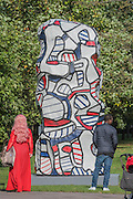 Jean Dubuffet,<br /> Tour aux récits, (after maquette dated 19 July 1973) 1973,<br /> Waddington Custot Galleries - The Frieze Sculpture Park 2016 comprises 19 large-scale works, set in the English Gardens between Frieze Masters and Frieze London. Selected by Clare Lilley (Yorkshire Sculpture Park), the Frieze Sculpture Park will feature 19 major artists including Conrad Shawcross, Claus Oldenburg, Nairy Baghramian,Ed Herring, Goshka Macuga and Lynn Chadwick. The installations will remain on view until 8 January 2017.