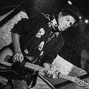 PHILADELPHIA - SEPTEMBER 24: Keith Richards performs on September 24, 1994, in Philadelphia, Pennsylvania. ©Lisa Lake