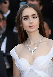 May 20, 2017 - Cannes, France - LILLY COLLINS.Okja Red Carpet Arrivals - The 70th Annual Cannes Film Festival.CANNES, FRANCE - MAY 19: attends the 'Okja' screening during the 70th annual Cannes Film Festival at Palais des Festivals on May 19, 2017 in Cannes (Credit Image: © Visual via ZUMA Press)