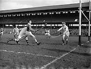 06/03/1955<br /> 03/06/1955<br /> 6 March 1955<br /> Combined Universities and The Rest v Ireland at Croke Park, Dublin.