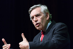 © Licensed to London News Pictures. 02/09/2018. London, UK.  Gordon Brown, former Prime Minister at the Jewish Labour Movement Conference 2018..  Photo credit: Vickie Flores/LNP