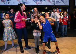 Fans take part in an interactive quiz at the Bristol Flyers Season Launch event at Ashton Gate - Mandatory by-line: Robbie Stephenson/JMP - 11/09/2017 - BASKETBALL - Ashton Gate - Bristol, England - Bristol Flyers 2017/18 Season Launch
