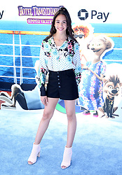 """Jenna Ortega at the premiere of """"Hotel Transylvania 3: Summer Vacation"""" held at the Westwood Village Theatre in Los Angeles"""