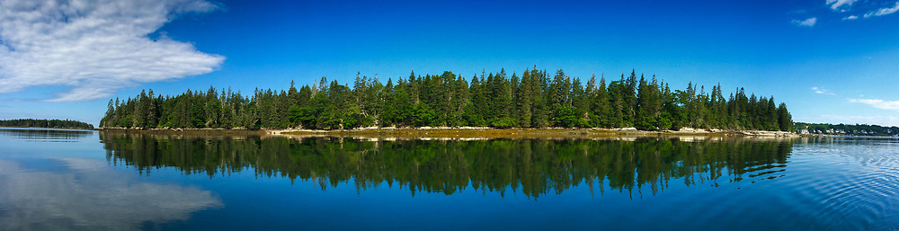 South Side, Nautilus Island, Castine, Maine, US