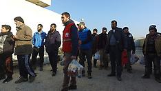 Syria - Turkey To Set Up Tent City 90,000 Syrians Fleeing Aleppo - 20 Dec 2016