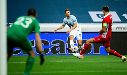 Miha Zajc of Slovenia during the UEFA Nations League C Group 3 match between Slovenia and Moldova at Stadion Stozice, on September 6th, 2020. Photo by Vid Ponikvar / Sportida