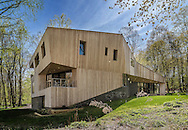Darien Contemporary, North Elevation by SU11 Architects