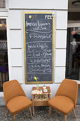Ost Fee cafe in Prenzlauer Berg in Berlin Germany